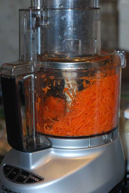 Fermented Carrots - Shredded Carrots